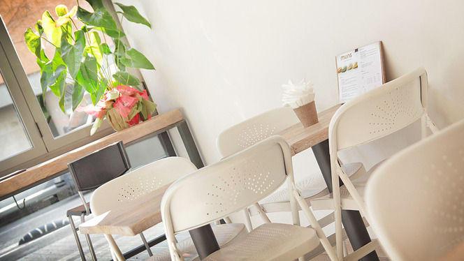 detalle mesa y planta - Muns, Barcelona