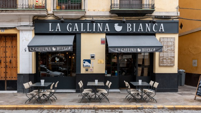 Terraza - La Gallina Bianca, Sevilla