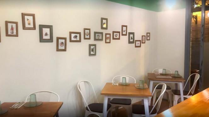 Vista del interior - El Dos Dimsum Bar, Las Rozas