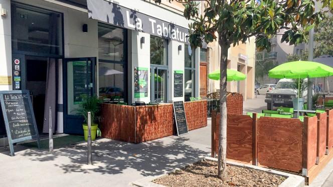 façade - La Tablature - Guillotière, Lyon