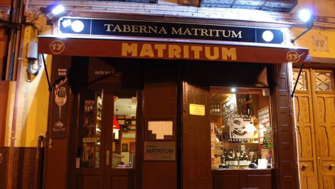 Fachada - Matritum, Madrid