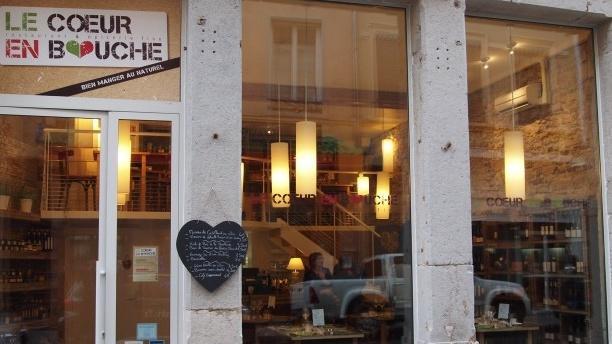 Devanture - Le Coeur en Bouche, Lyon
