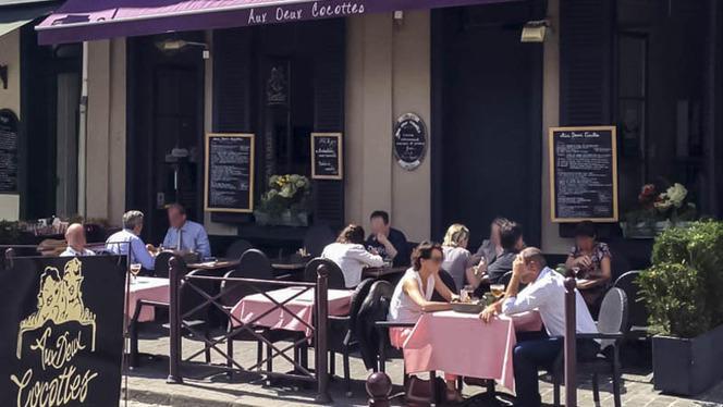 terrasse - Aux Deux Cocottes, Lille