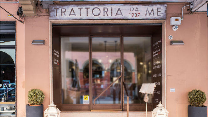 Esterno - Trattoria Da Me, Bologna