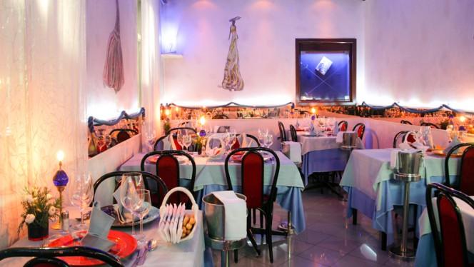 Sala del ristorante - Montecristo, Milan
