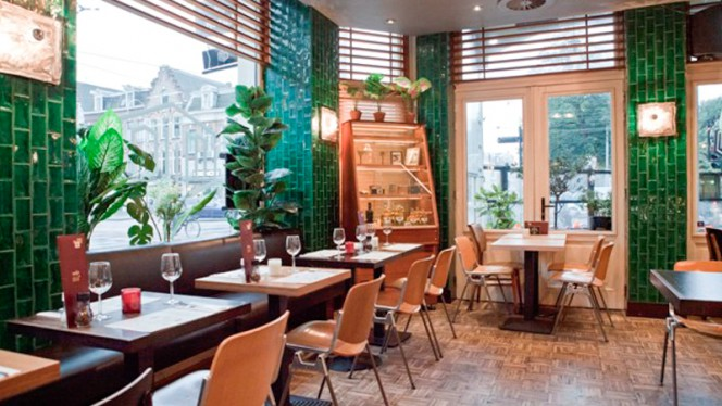 Restaurant - Caffe Milo, Amsterdam