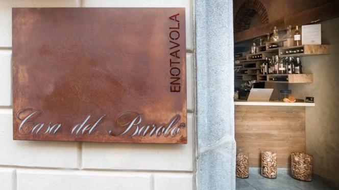 Entrata - Casa del Barolo Enotavola, Turin
