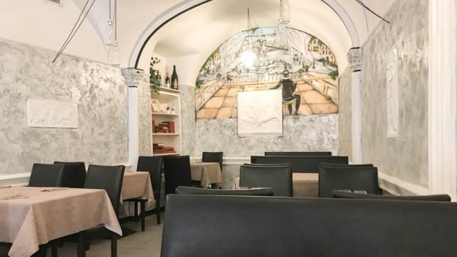Vista sala - Glend Navona, Rome