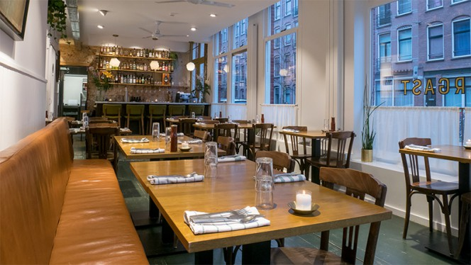 Restaurantzaal - Pendergast, Amsterdam