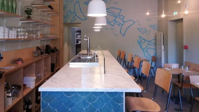 Vue de la salle - Les Petits Poissons - Sea Food Bar, Lille