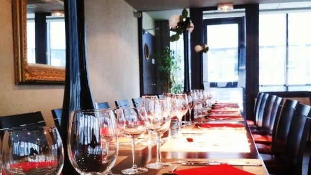 Tables dressées - O Sidney, Lyon