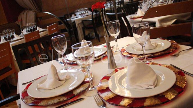 Vista mesa - Divina La Cocina, Madrid