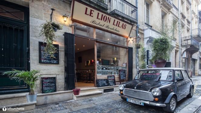 façade - Le Lion Lilas, Bordeaux