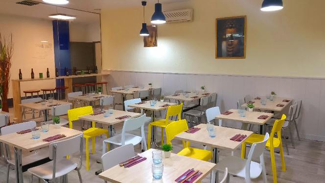Vista sala - Thai Café, Barcelona
