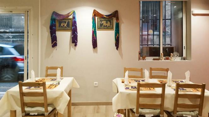 Salle du restaurant - Le Chemin du Safran, Aix-en-Provence