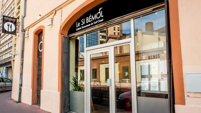 Devanture - Le Si Bemol, Toulouse