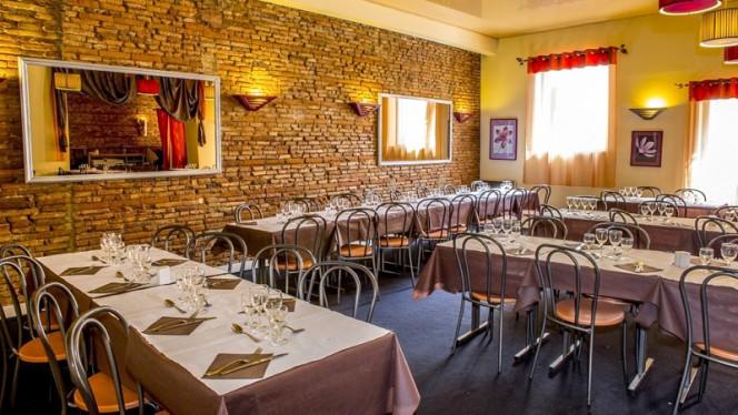 Vue des tables - Le Si Bemol, Toulouse