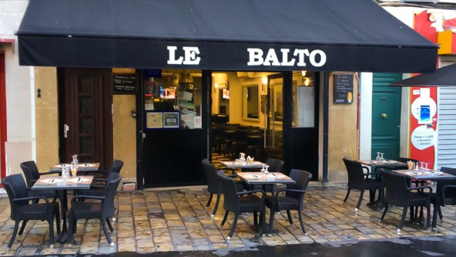 Façade du restaurant - Le Balto, Aix-en-Provence
