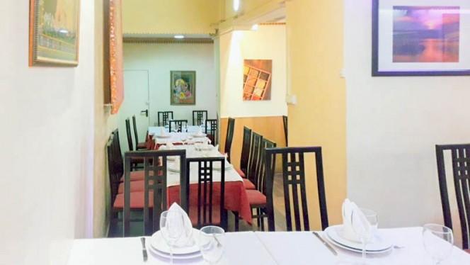 Vista de la sala - Curry Masala, Madrid