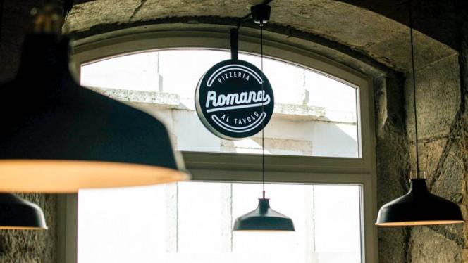 Detalhe de decoração - Pizzeria Romana BIO, Lisboa