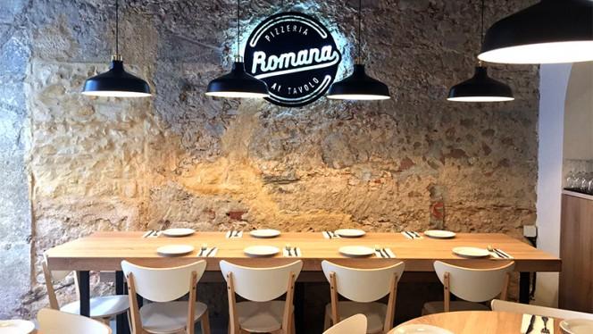 Vista do interior - Pizzeria Romana BIO, Lisboa