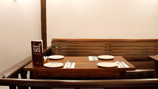 Vista mesa - La Casa del Abuelo - Núñez de Arce, Madrid