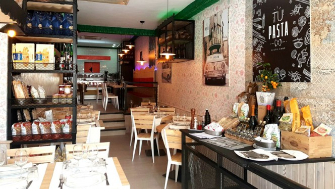 Interior - ¡Tu! Pasta, Madrid