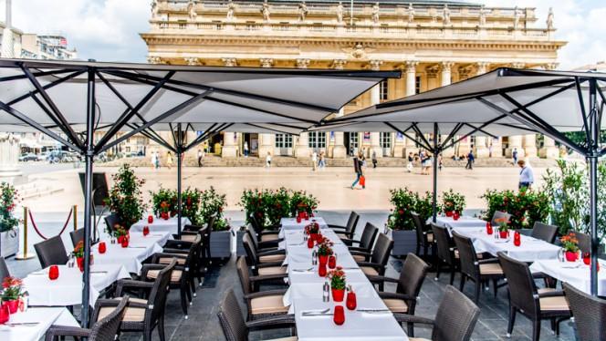 Terrasse - Brasserie Le Bordeaux - Gordon Ramsay - InterContinental Bordeaux - Le Grand Hôt, Bordeaux