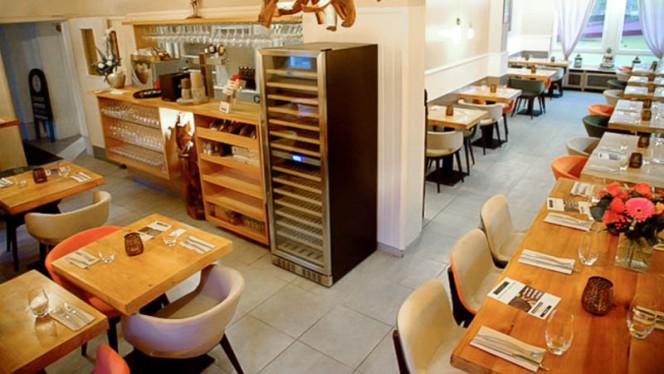 Salle du restaurant - Entre 2 terres, Schiltigheim