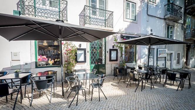 Esplanada - Pão à Mesa com certeza, Lisboa