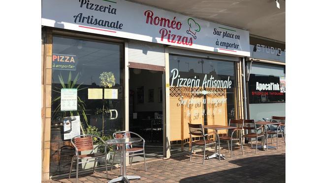 facade - Romeo Pizzas, Lambersart
