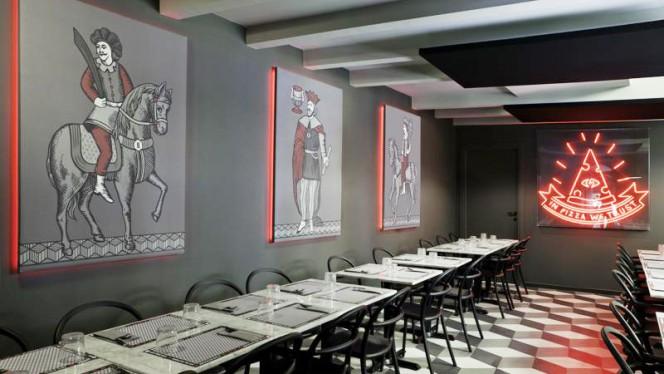 Vista della sala - Briscola Pizza Society - Sempione, Milan