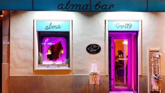 Fachada - Alma cocktail&tapas, Madrid