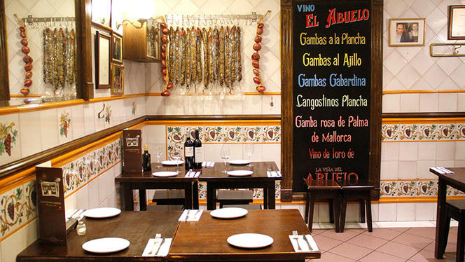 Interior - La Casa del Abuelo - Goya, Madrid