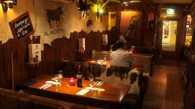Restaurantzaal - Al Argentino, Amsterdam