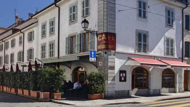 Extérieur - Café des Négociants, Carouge