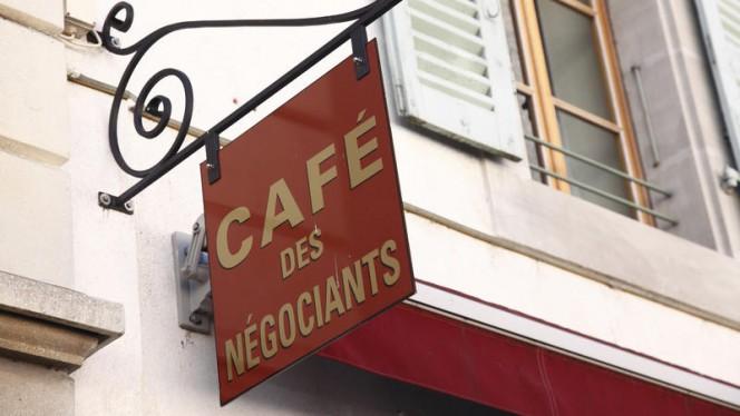 Façade - Café des Négociants, Carouge