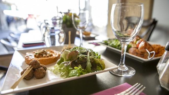 Suggestion de plat - AZ restaurant, Bordeaux