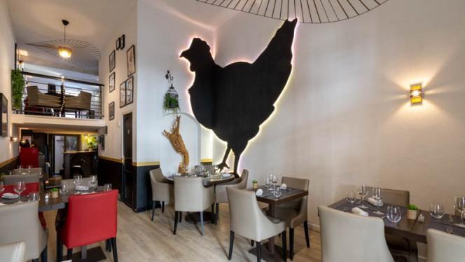 Vue de la salle - La Poule Noire, Marsiglia