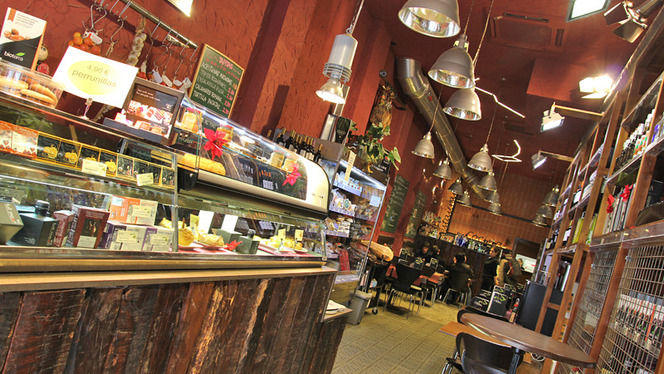 detalle tienda gourmet - Los Bellota Sagrada Familia, Barcelona