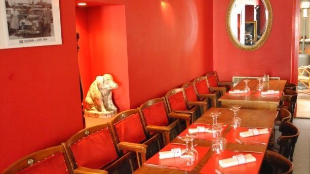 Salle du restaurant - Vas-y Vas-y, Lyon