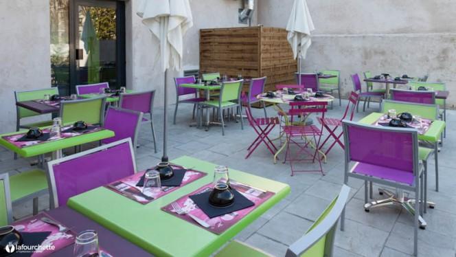 La terrasse - Grain de Sel, Lyon