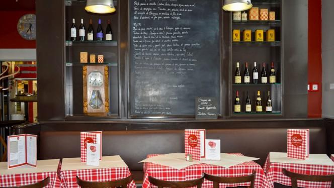 Salle du restaurant - Chez Baptiste, Lyon