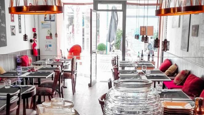 Sala do restaurante - Porto Caco, Porto