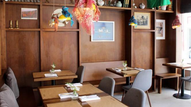 Vista do interior - O Restaurante da Maria Odete, Porto