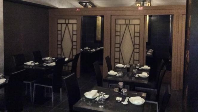La sala - Sushi 163, Milan
