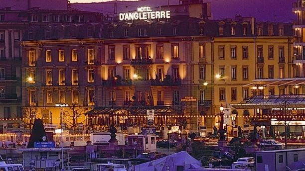 Devanture - Hotel d'Angleterre - Windows, Genève