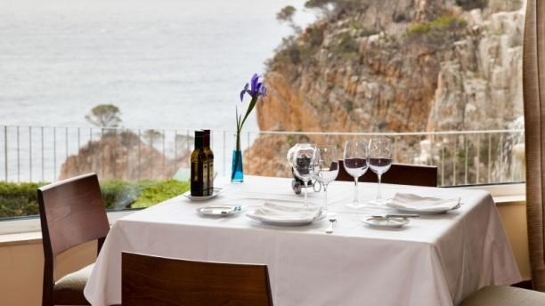 Vista comedor - Restaurante Parador de Aiguablava, Begur