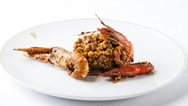 Arroz de pescado y marisco - Restaurante Parador de Aiguablava, Begur