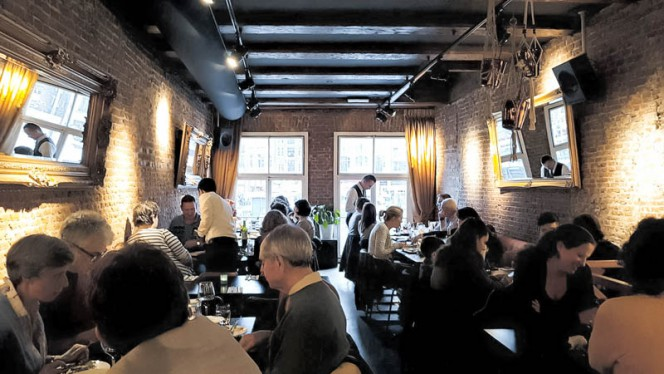 Het restaurant - SHAM (Warmoesstraat), Amsterdam